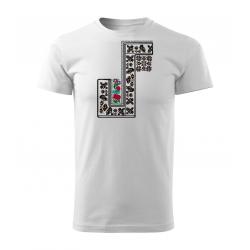 Vlčnovské krojové triko -...